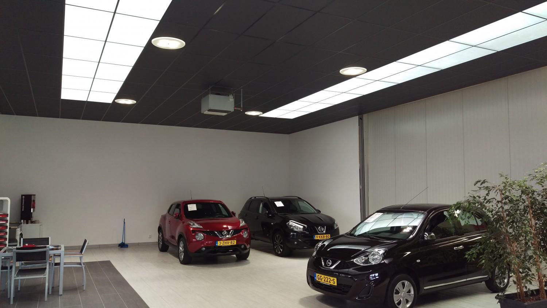 Lichtontwerp voor Nissan dealer Hoeke