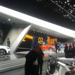 lichtinstallatie L&B bij AUdi in Geneve